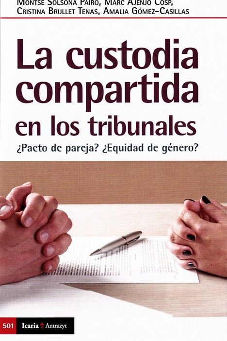 CUSTODIA COMPARTIDA EN LOS TRIBUNALES LA