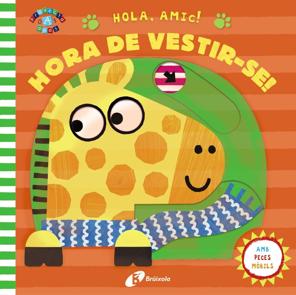 HOLA AMIC HORA DE VESTIR SE