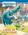 MONSTRUOS UNIVERSITY. LIBRO DE PEGATINAS