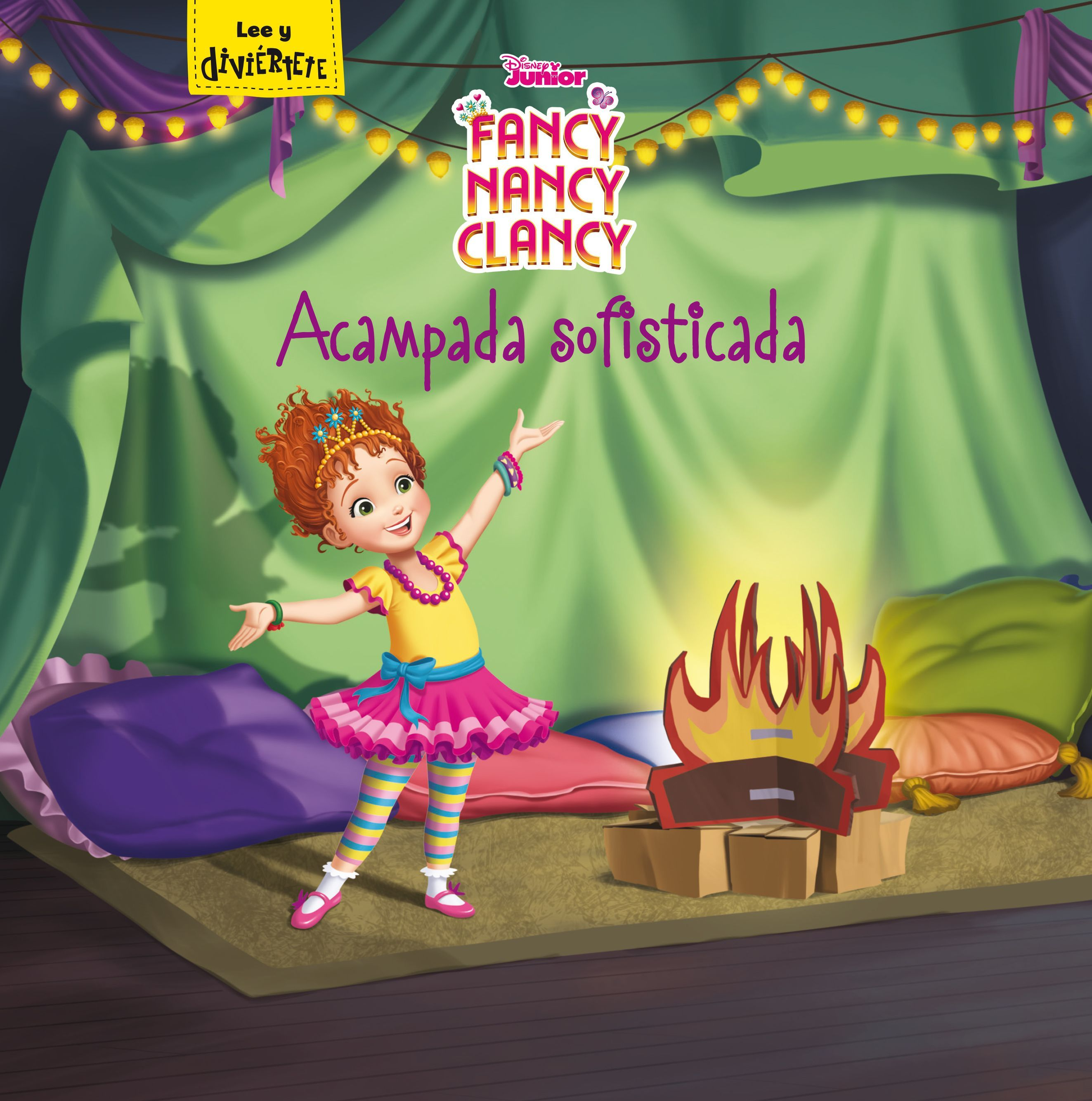 FANCY NANCY CLANCY ACAMPADA SOFISTICADA