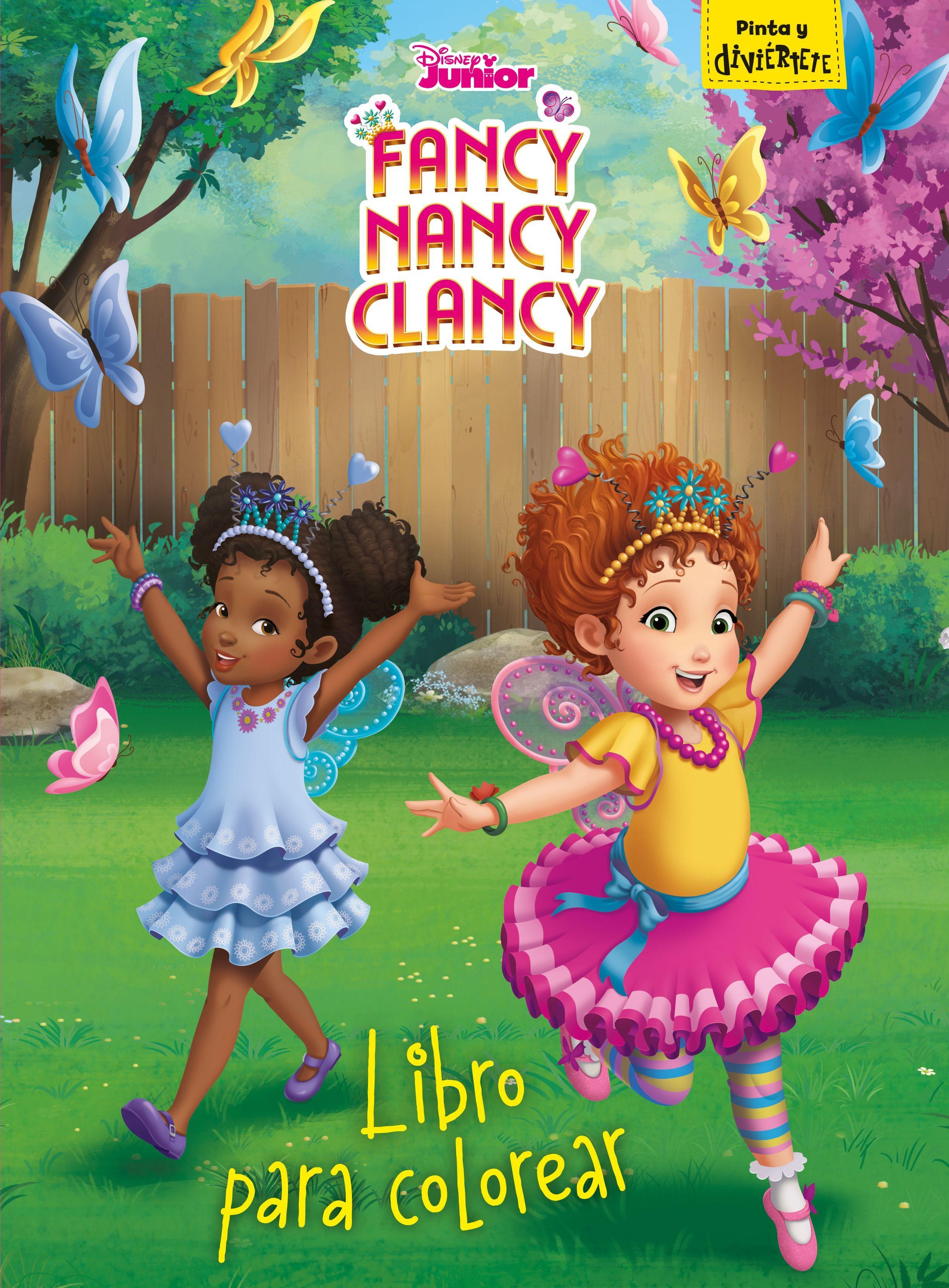 FANCY NANCY CLANCY LIBRO PARA COLOREAR