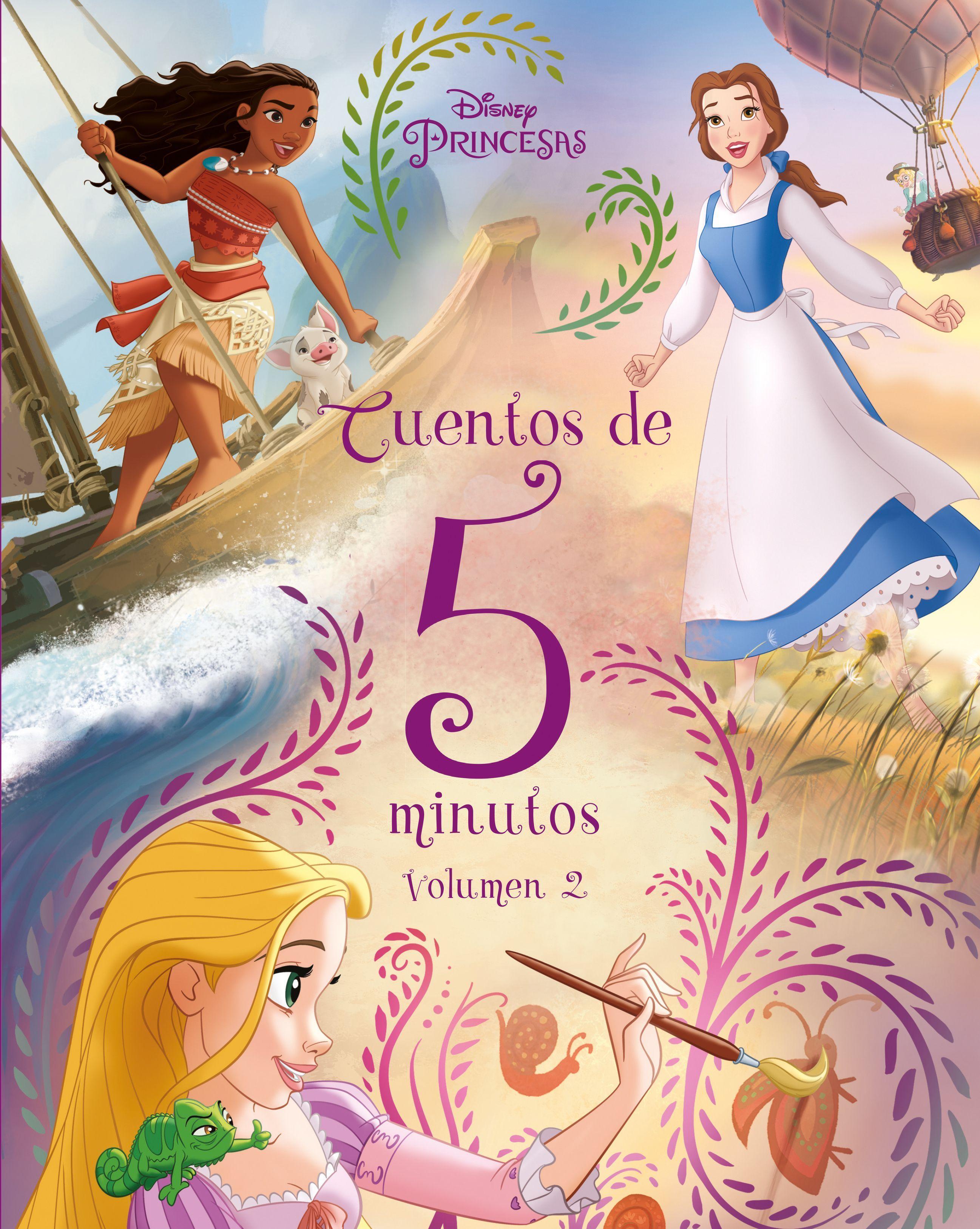 PRINCESAS CUENTOS DE 5 MINUTOS VOLUMEN 2