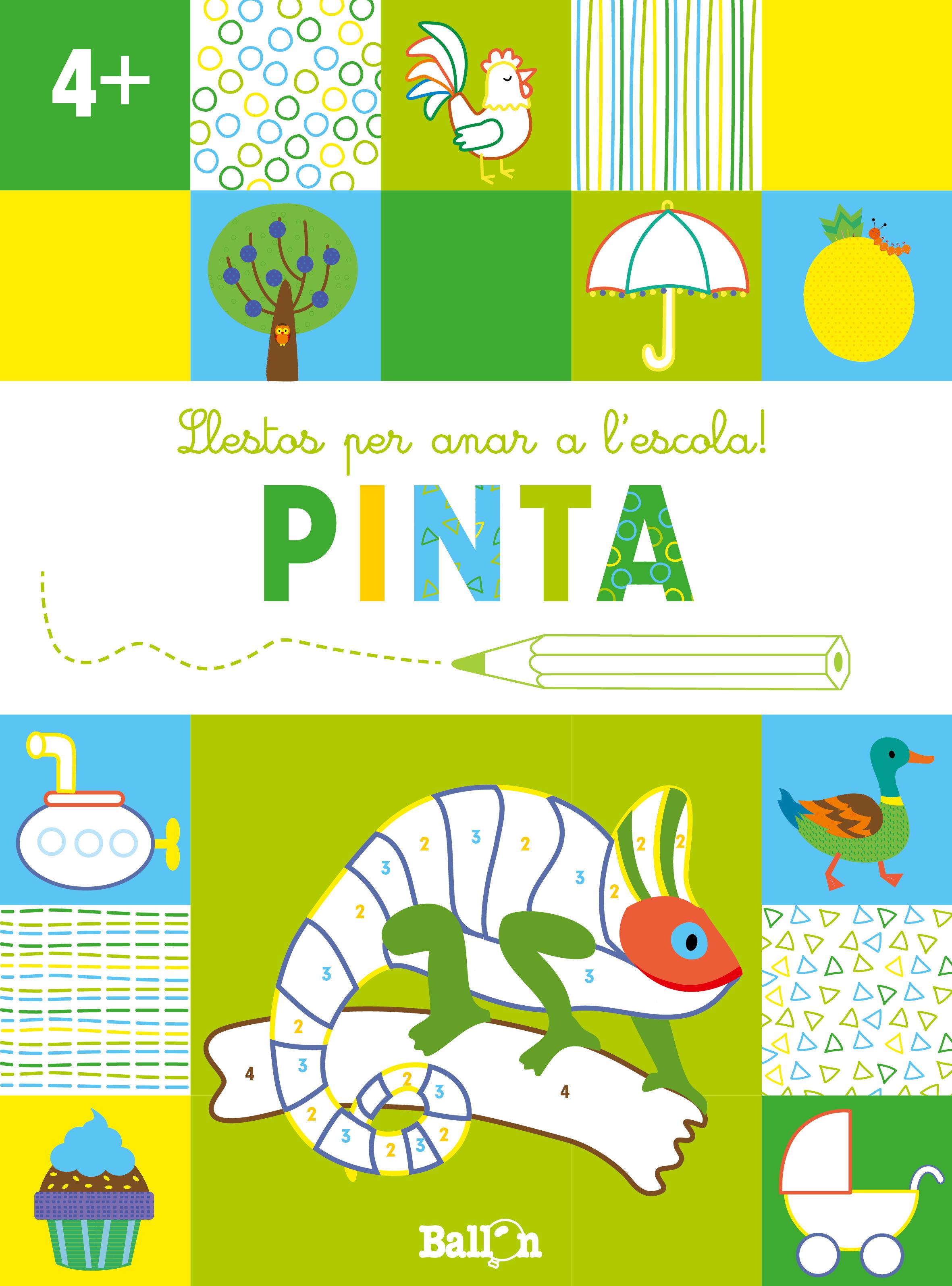 LLESTOS PER ANAR A L ESCOLA PINTA +4