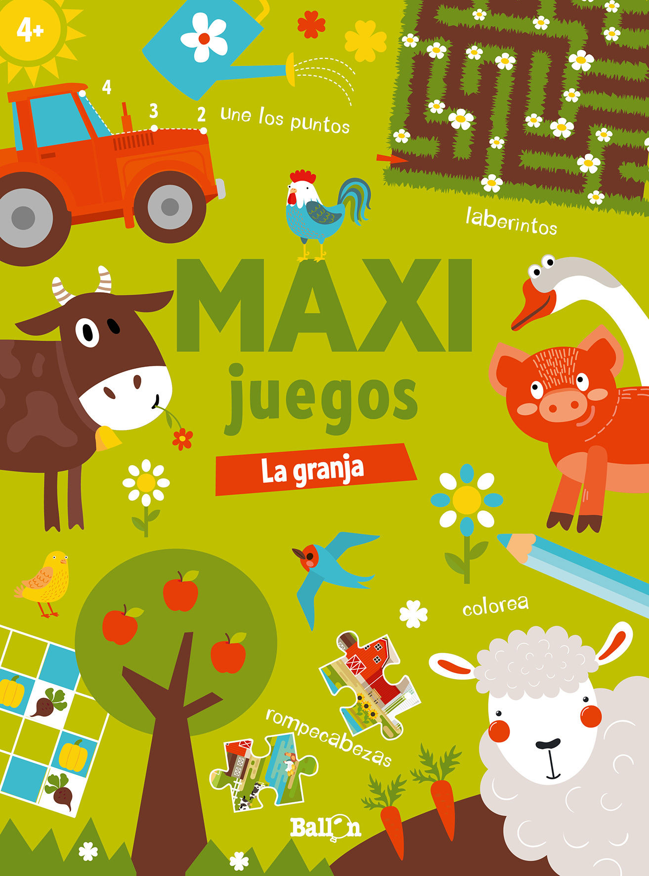 MAXI JUEGOS LA GRANJA