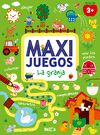 MAXI JUEGOS  LA GRANJA +3