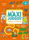 MAXI JUEGOS  PALABRAS Y NÚMEROS +5