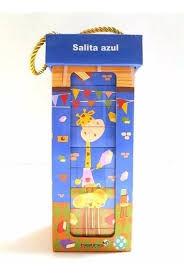 BLOQUES DE LA JIRAFA LOS SALITA AZUL 10 LIBROS
